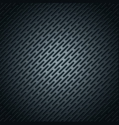 Black metallic stainless steel polygons background vector
