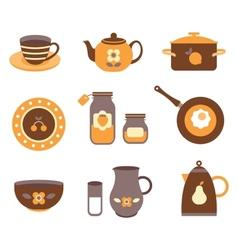 kitchen tools vector image