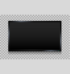lcd tv screen vector image