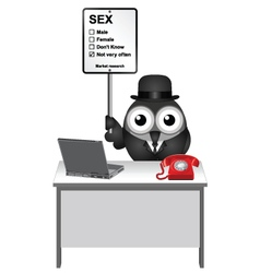Market Research Sex vector image