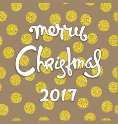 modern christmas design vector image