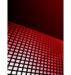 Red waveform background EPS 8 vector