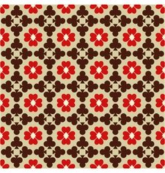 Seamless abstract pattern with card suits vector