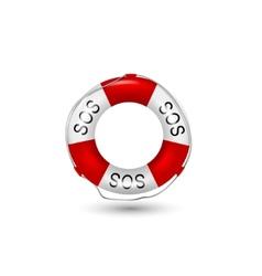 Help service icon vector image