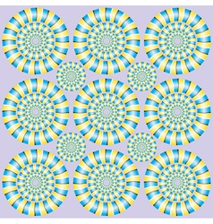 Show of rotation vector image vector image
