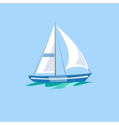 Sailboat on the Water vector image