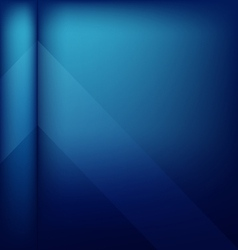 Abstract cover blue background vector image vector image