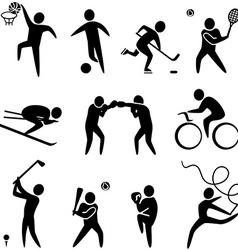 Activities vector image vector image