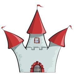 dcartoon castle EPS10 vector image