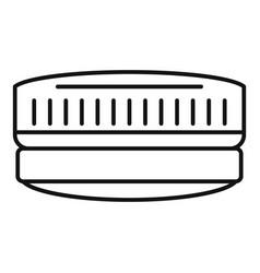 Contact len case icon outline style vector