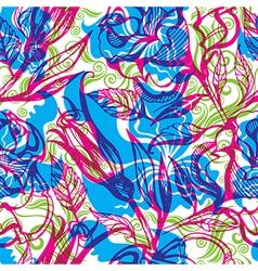 Flower rose seamless 001 vector