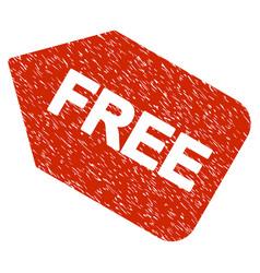 Free sticker grunge icon vector