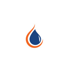 oil gas and energy logo concept vector image