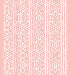 Seamless pattern in islamic ornamental pattern vector