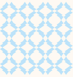 subtle seamless pattern in white and light blue vector image