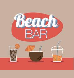 Beach Bar vector