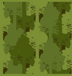 Camouflage woods green seamless pattern vector