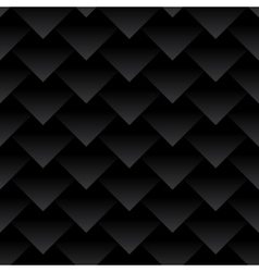 Carbon fiber triangles background Dragon skin vector