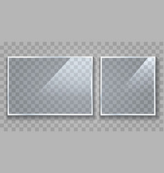 clear light boards vector image