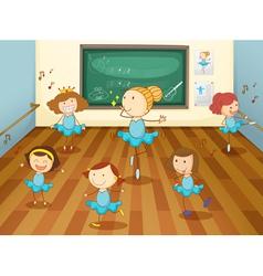 Dancing Class vector image