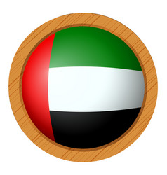 Icon design for flag of arab emirates vector