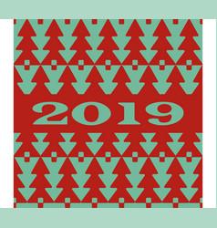 new year 2019 background stylish design vector image