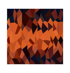 Persimmon Orange Abstract Low Polygon Background vector