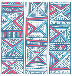 tribal african seamless pattern in boho style vector image