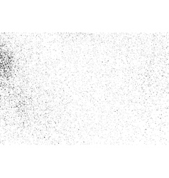 Grainy texture on a white vector image vector image