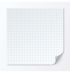 Cell page sheet Sheet of graph paper Grid texture vector image