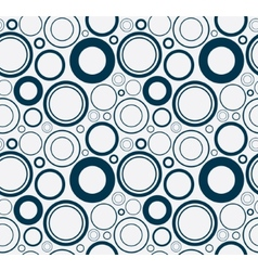 Simple and colorful circles background Seamless vector image