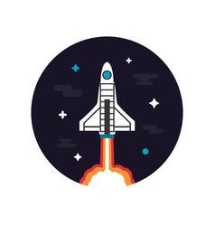 464rocket launch vector