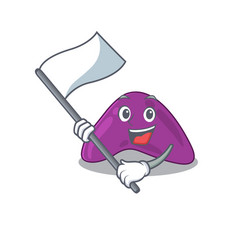 A heroic adrenal mascot character design vector