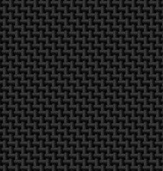 Black cloth texture vector image
