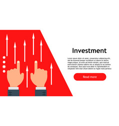 business banking finance money growth invest vector image