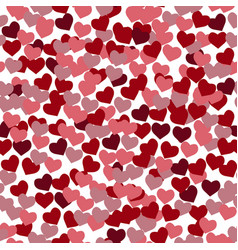 love semless pattern from gentle flying pink and vector image