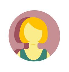 Mature women short hair people graphic vector