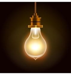 Modern Bulbs Background vector