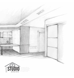 Modern Interior Design vector image