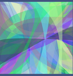 Multicolored abstract background from curves vector