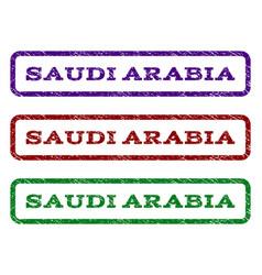 Saudi arabia watermark stamp vector