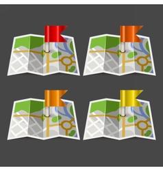 FlagMap vector image
