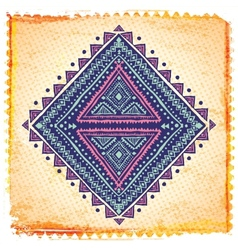 Beautiful ethnic ornament vector image vector image