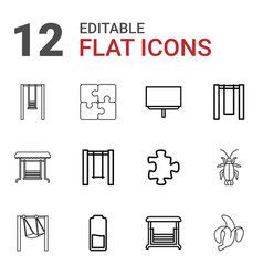 12 painting icons vector