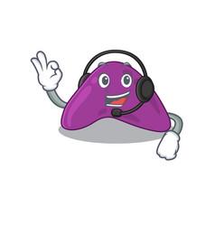 A stunning adrenal mascot character concept vector