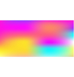 Abstract colorful rainbow blurred background with vector