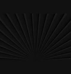 Abstract layered black color background dark vector