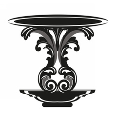 Baroque Royal Table vector
