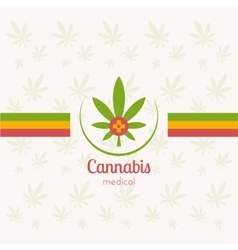 Cannabis Medical vector image