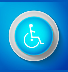 disabled handicap icon wheelchair handicap sign vector image